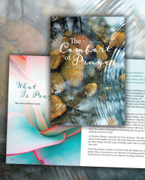The Comfort  of Prayer 2020 May Booklet - English