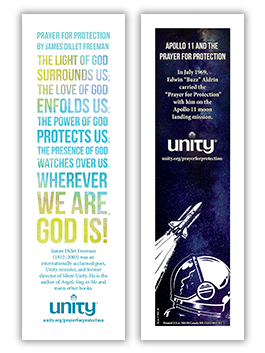 Prayer for Protection/Apollo 11 Bookmark and Prayer Card