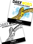 DAILY WORD Affirmation Cards: Family