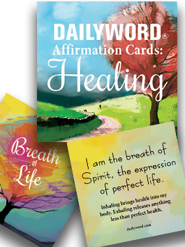 **DAILY WORD Affirmation Cards:  Healing