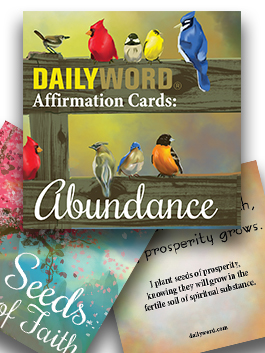 DAILY WORD Affirmation Cards: Abundance