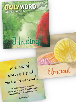 DAILYWORD Affirmation Cards: Healing