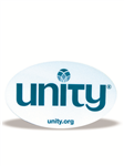 Unity Window Cling-wh/teal