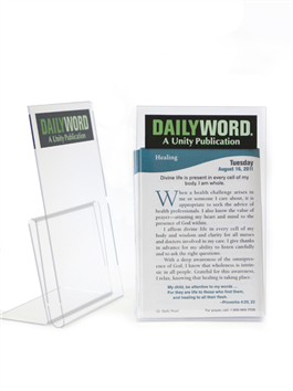 **Daily Word Holder-acrylic