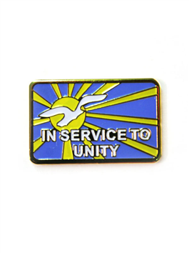 In Service To Unity Pin