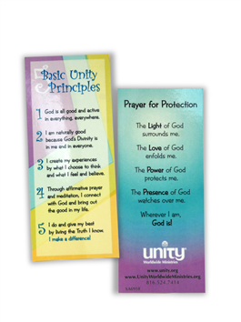 5 Basic Principles/Prayer for Protection Card